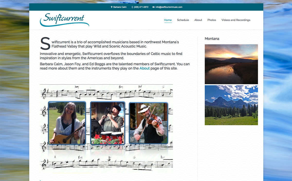 Swiftcurrent website